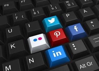 social media linking to community