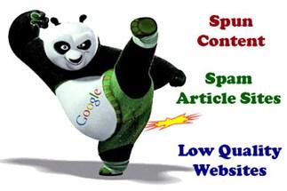 Google Panda Penalties