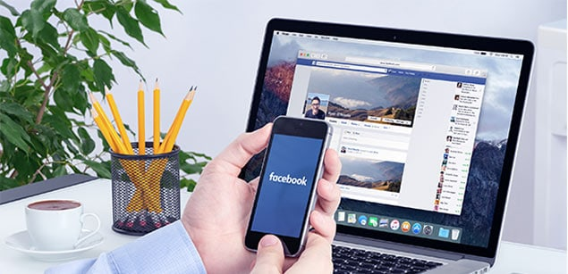 Facebook business page contents