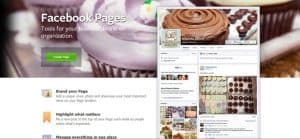 set up a business Facebook page