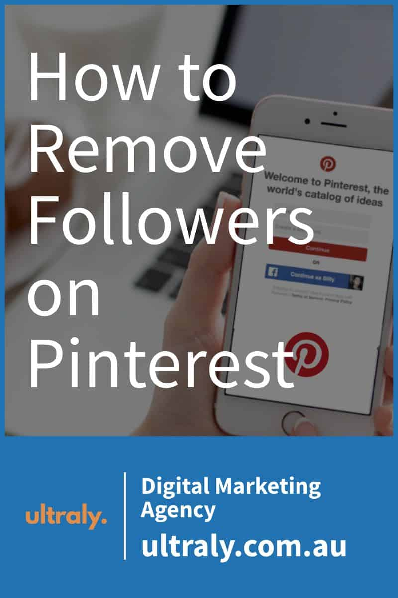 How to Remove Followers on Pinterest