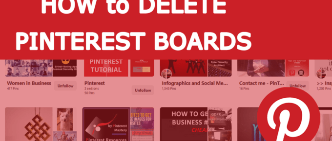 How to Remove Unwanted Pins on Pinterest