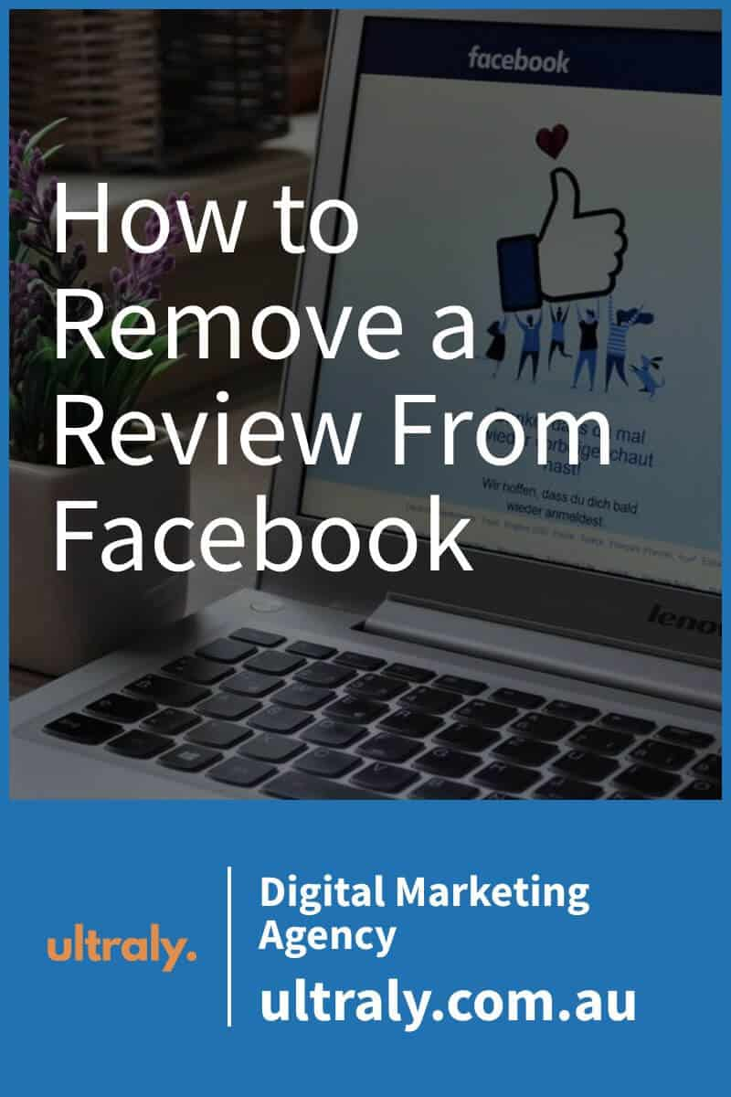 How to Remove a Review From Facebook